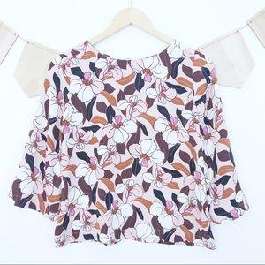 Ann Taylor | floral blouse